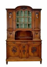 1111019 : Antique French Louis XVI Walnut Buffet Sideboard Cabinet