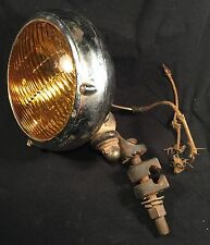 Vintage Fog Light General Electric Seelite Made in USA Auto Lite PRIORITY MAIL