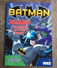 Batman Jumbo Coloring and Activity Book #3 New