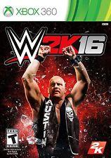 NEW WWE 2K16 (Microsoft Xbox 360, 2015) 2016 16