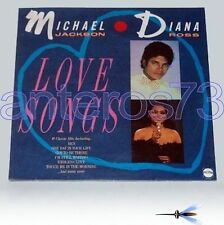 "MICHAEL JACKSON DIANA ROSS ""LOVE SONGS"" RARE LP- SEALED"