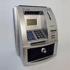 HUCHA CAJERO AUTOMATICO CYBER BANK PILAS INCLUIDAS (ENVIO EXPRESS AGENCIA 24H)