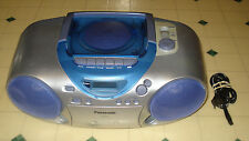 ~~Panasonic model RX-D13 portable boombox radio/cassette/CD player ~WORKS 100%~~