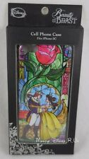 New Disney Beauty & The Beast Stained Glass iPhone 5C Snap Cell Phone Case