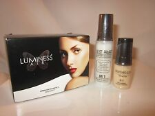 New Luminess Air/Stream Airbrush Makeup Moisturizer Primer .55oz w/ .25oz Glow