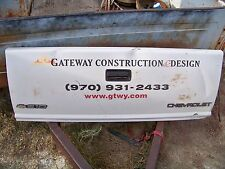 "Chevrolet Chevy S10 Tailgate 55"" X 21"" Bench Decor 1990s"