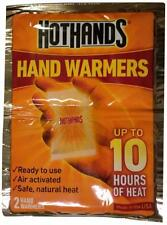 ** HOTHANDS HAND WARMER 2 WARMERS UPTO 10 HOURS HEAT NEW ** READY TO USE WINTER