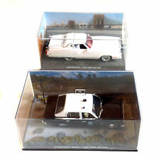 JAMES BOND 007 Movie Film Car Collection LIVE & LET DIE set of 2, NICE!