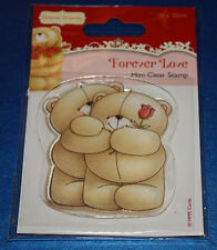 NEW Docrafts Forever Friends 'Rose' Love Clear Stamp - Valentines, Wedding etc.
