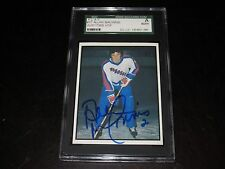 AL MACINNIS AUTOGRAPHED P.L.A.Y. JUNIOR POLICE CARD-SGC SLAB-ENCAPSULATED