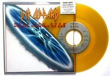 "NM! DEF LEPPARD HAVE YOU EVER NEEDED SOMEONE SO BAD YELLOW COLOURED 7"" VINYL 45"