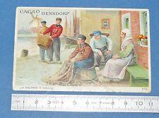 RARE GRAND CHROMO CACAO BENSDORP 1895-1905 CHOCOLAT AMSTERDAM NEDERLAND HOLLAND