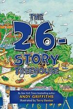 The 26-Story Treehouse (The Treehouse Books)-ExLibrary