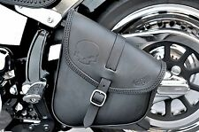 SADDLE BAG SWINGARM BAG FOR HARLEY DAVIDSON SOFTAIL & RIGID FRAMES MADE IN ITALY
