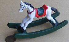 1:12th Scale Rocking Horse Dolls House Miniature Nursery Toy Accessory 1144