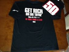 "New 2003 50 Cent ""Get Rich or Die Tryin"" G-Unit Mens Shirt and1 Eminem Dre"