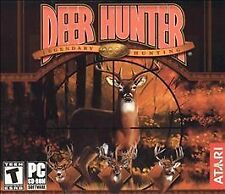 Deer Hunter 2003 Legendary Hunting PC Computer Game CD Disc Only Rated T Teen