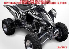 Invision décor Graphic Kit ATV yamaha yfz 450 04-14,yfz 450r racer-x, Décalques B