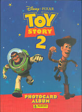 TOY STORY 2 DISNEY PANINI COMPLETE 4 X 6 PHOTOCARD CARD SET & CARD ALBUM BINDER