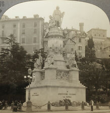 Keystone Stereoview Christopher Columbus Monument, ITALY RARE 1200 Card Set Ty