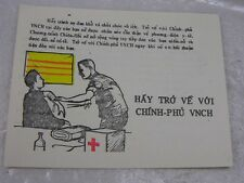 Authentic South Vietnam War Truyen Don Propaganda Leaflet Tro Ve Voi VNCH