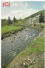 River Ifon and the Dol Y Coed Hotel, Wales - postcard