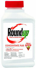 New Roundup 5005510 Weed and Grass Killer Plus Concentrate Bottle, 16-Ounce