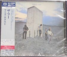 "THE WHO ""WHO'S NEXT"" JAPAN SHM-SACD DSD 2014 JEWEL CASE *SEALED*"