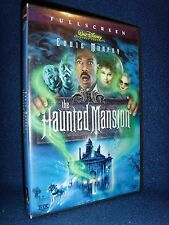 Disney•The Haunted Mansion (DVD, 2004) Mint Disc!•No Scratches!•USA•Eddie Murphy