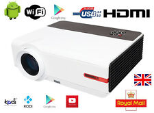 UK 5000 Lumen Android WIFI Multimedia Home Cinema 1080P HDMI USB Video Projector