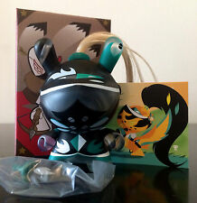 "DUNNY 3"" ART OF WAR SERIES PATRICIO OLIVER GREEN 3/40 KIDROBOT 2014 TOY FIGURE"
