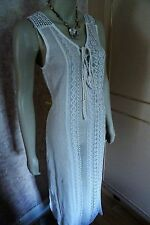 PRIMARK CHEESECLOTH CROCHET LACE COVERUP FOR BEACH (LARGE & XLARGE )