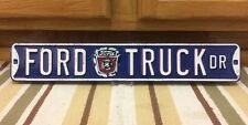 Ford Truck Dr Metal Advertising Garage Man Cave Parts Vintage Style Decor Tire