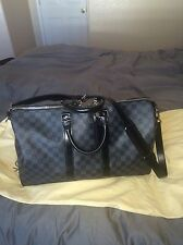 Louis Vuitton Keepall 45 Damier Graphite Preloved