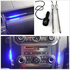2 x Car Music lights Audio indicator Lamp Voice-activated music rhythm LED light