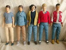 One Direction Collectable Hasbro Figures - Set of All 5 Members - + FREE Gift