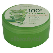 [4Packs] Topface 100% ALOE VERA SOOTHING & MOISTURE GEL skincare - Made in Korea