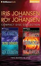 Iris and Roy Johansen CD Collection : Silent Thunder, Storm Cycle by Roy...