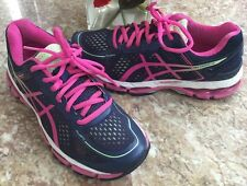 ASICS Men's GEL-Kayano 22 Running Blue/Pink Multi-Color Shoe Size US 6 EUR 37!