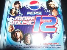Pepsi Volume 12 Various 2 CD Ft Katy Perry Lady Gaga Rihanna The Killers Presets