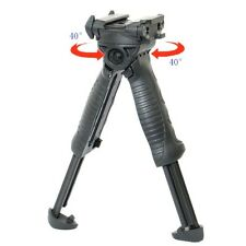 Tactical Vertical Rotating Fore Grip Bipod T-POD TPOD g2 TRIPOD BLACK