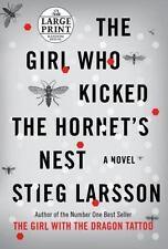 The Girl Who Kicked the Hornet's Nest  Hardcover (Like New)