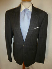 MENS HUGO BOSS COOPER RENO GREY & PURPLE WOOL SUIT JACKET 40 WAIST 34 LEG 32