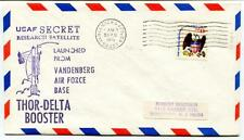 1976 USAF Secret Research Satellite Vandeneberg Air Force Base Thor-Delta USA