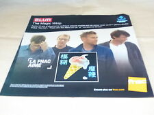 BLUR - THE MAGIC WHIP !!! !FRENCH RECORD STORE PROMO ADV / DISPLAY!!