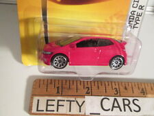 MATCHBOX RED '08 HONDA CIVIC TYPE R SCALE 1:61 ON LONG CARD