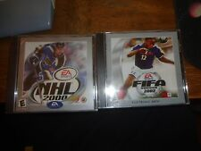 ELECTRONIC ARTS FIFA 2002 SOCCER AND NHL 2000, SEALED, NEW , FREE SHIPPING IN US