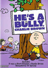 HE'S A BULLY, CHARLIE BROWN (NEW DVD)