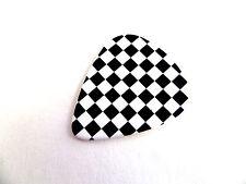 Checkered Board guitar pick pic