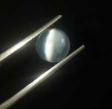 5.25. Ct 100% NATURAL  WHITE ROUND CABOCHON   MOONSTONE CATS EYE